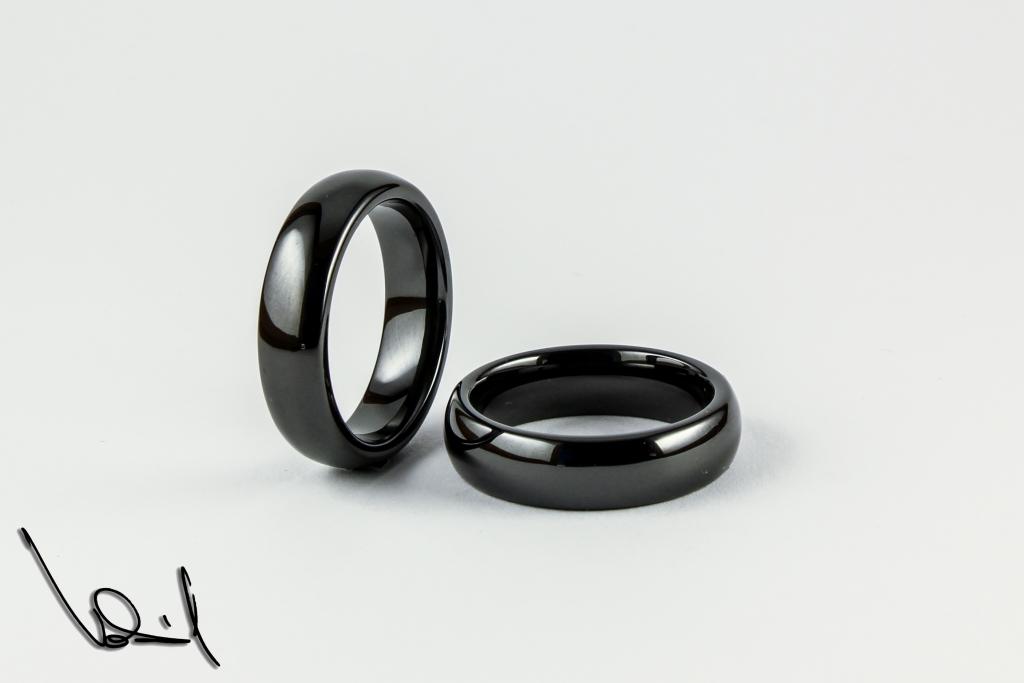 e5fa9693e Černý wolframový prsten 59 | Šperky Vokál