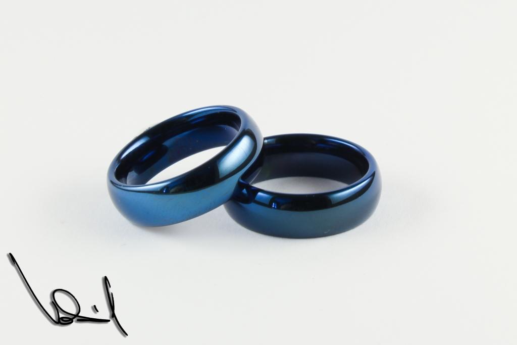 3e900112d Modrý wolframový prsten 49 | Šperky Vokál